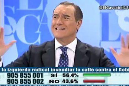 """Batalla tuitera de tertulianos de 'El Cascabel': """"¡Gentuza miserable!"""""""