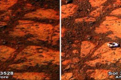 La NASA resuelve por fin el extraño caso del 'dónut' que apareció en Marte de repente