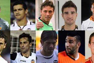 Diez jugadores del Valencia podrían irse gratis la próxima temporada