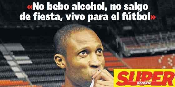 """""""No bebo alcohol ni salgo de fiesta"""""""