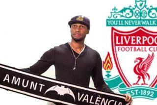 Dijo no al Liverpool para fichar por el Valencia
