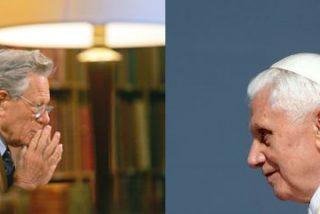 "Ratzinger se confiesa a Hans Küng: ""Mi única y última tarea es sostener a Francisco"""