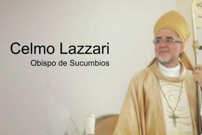 """Monseñor Lazzari: """"Necesito vuestra confianza y vuestra ayuda"""""""