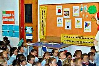 En Cataluña se hace adoctrinamiento independentista también en los parvularios