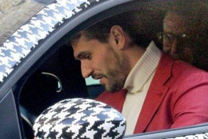 Llorente revoluciona Italia con su extravagante coche