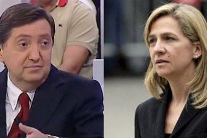 """Federico Jiménez Losantos a la Infanta: """"¡Tú lo que eres es una caradura que no cabe en España!"""""""