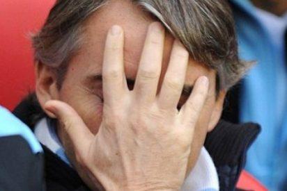 Mancini atiza a los españoles que manejan el City