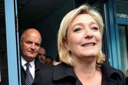 El derechista Frente Nacional francés se dispara en los sondeos electorales