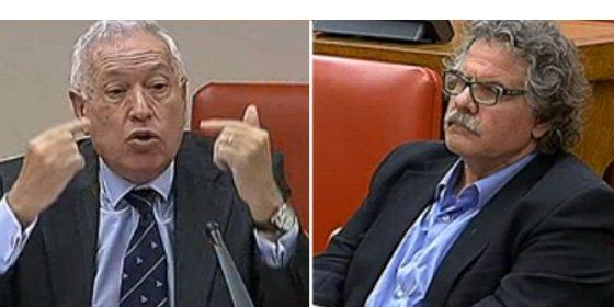 """'Zas en toda la boca' de Margallo a Tardá: """"¿Cedería a Tarragona el derecho a decidir?"""""""