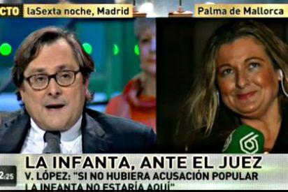 """Paco Marhuenda: """"A la Infanta no la imputan por lo que ha hecho, sino por ser quien es"""""""