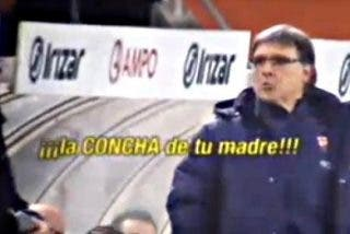 """Así gritaba el 'Tata' Martino en su bronca con el banquillo de la Real Sociedad: """"¡La Concha de tu madre!"""""""