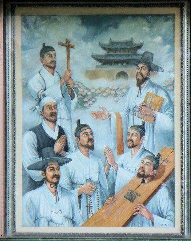 Franciso canoniza a 124 mártires coreanos