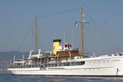 Echa anclas en Mahón el buque insignia de la flota de EEUU en la II Guerra Mundial