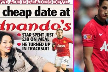 Describe la cita con la estrella del United dejandole como un auténtico pardillo