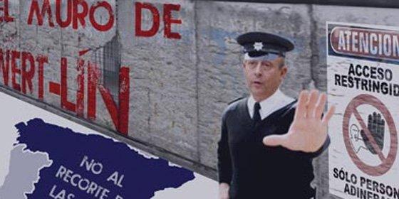 'El Muro de Wertlin': los jóvenes socialistas le declaran la guerra a Wert