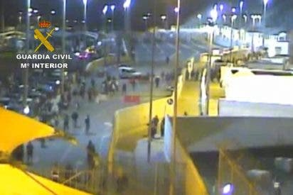 El vídeo en el que se escuda la Guardia Civil tras la mortal avalancha en el asalto de Ceuta