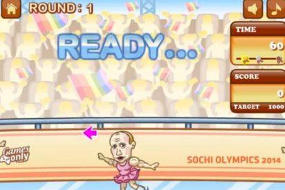 El videojuego que convierte a Putin en gay vistiéndole de patinadora 'buscona'