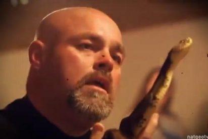 [Vídeo] Muere mordido por una víbora un pastor 'estrella' que se las daba de santo