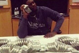 El NBA sube una foto con 1 millón de dolres a Instagram