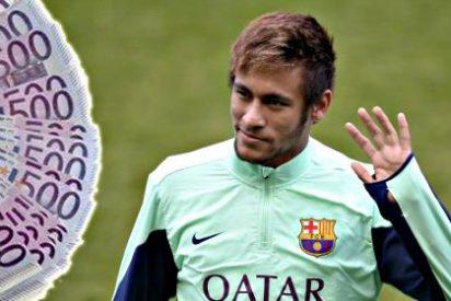 Neymar, que supuestamente había salido por cuatro perras al Barça, ya ha costado 107 millones a los azulgranas