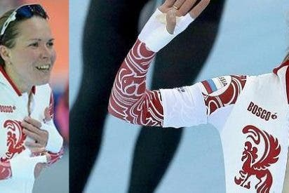 El descuido de la medallista rusa da la vuelta al mundo