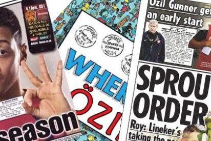 """La prensa inglesa se ceba con Özil: """"Fichaje fracaso"""""""