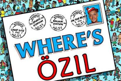 La prensa inglesa se lía a palos con Mesut Özil por 'borrarse' frente al Liverpool