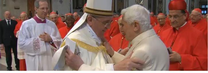 """Benedicto XVI: """"Las especulaciones sobre la invalidez de la renuncia son simplemente absurdas"""""""