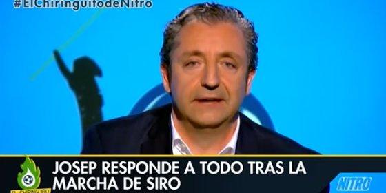 Pedrerol habla sobre la marcha de Siro López