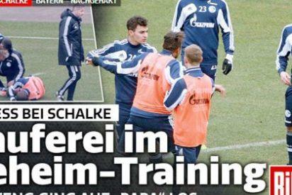 Pelea en el entrenamiento del Schalke