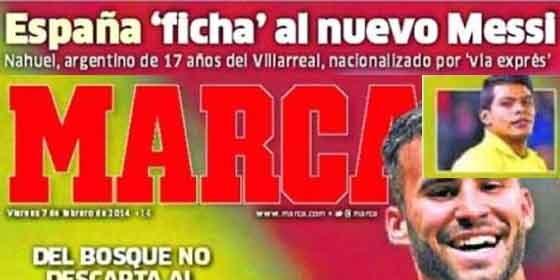 """""""El nuevo Messi ficha por España"""""""