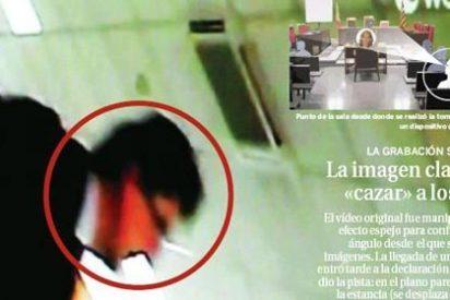 Dos abogados con cámaras en las gafas pudieron grabar el vídeo de la Infanta