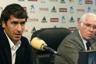 Raúl recuerda a Luis Aragonés en un comunicado