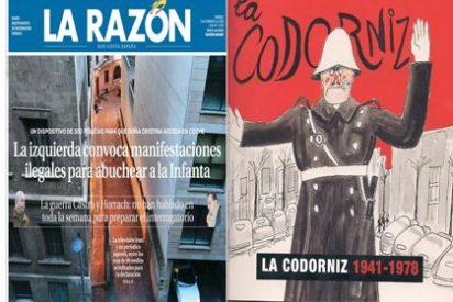 La Razón es la nueva La Codorniz: la izquierda va abuchear a la Infanta