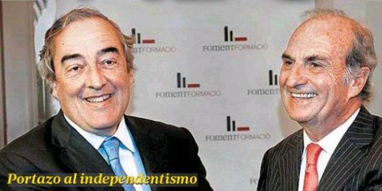 La patronal catalana ya no se esconde y abofetea a Mas por sus planes separatistas