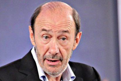 "Alfredo Pérez Rubalcaba: ""El PSOE ni firma ni acuerda ni pacta con Bildu"""