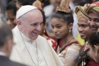 """Papa: Dios me """"concederá la gracia"""" de visitar Sri Lanka"""
