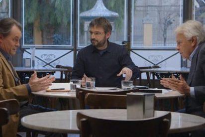 Artur Mas se arruga ante Jordi Évole y niega que haya