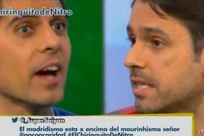 Roberto Morales es incapaz de olvidar a Mourinho y José Luis Sánchez se lo afea: