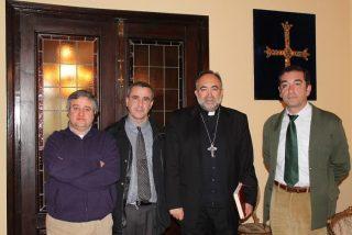 Monseñor Sanz respalda a los trabajadores de la Fábrica de Armas de Trubia
