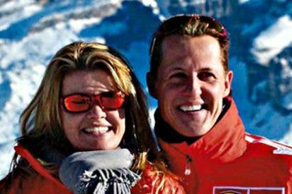 Familiares y amigos, hablan con Schumacher