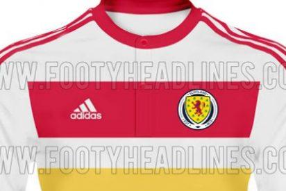La camiseta más fea es de Escocia