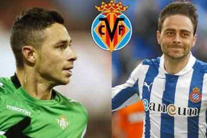 Los dos delanteros que pretende el Villarreal