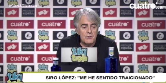 Siro López explica su polémico fichaje por 'Tiki Taka'
