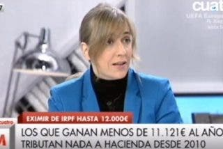 """La señorita progre Tania Sánchez no quiere trabajar por 400 € al mes: """"Es esclavitud"""""""