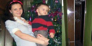 Escena infernal: Un ascensor decapita a una madre delante de su hijo de dos años