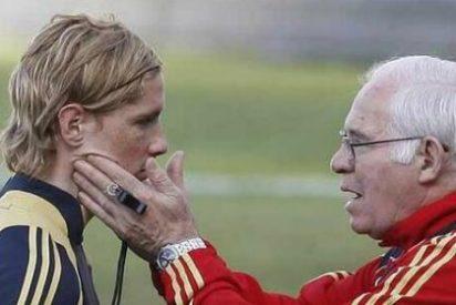 Torres llora al entrenador que le hizo debutar