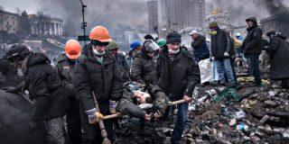 El régimen de Ucrania responde al reto de la oposición con un baño de sangre