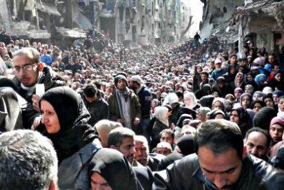 El hambre, el odio y la desesperación acampan entre los refugiados sirios de Yarmuk