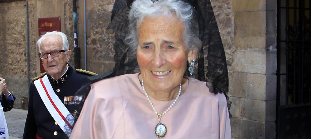 Muere a los 85 años María Concepción Sáenz de Tejada, madre de Marichalar